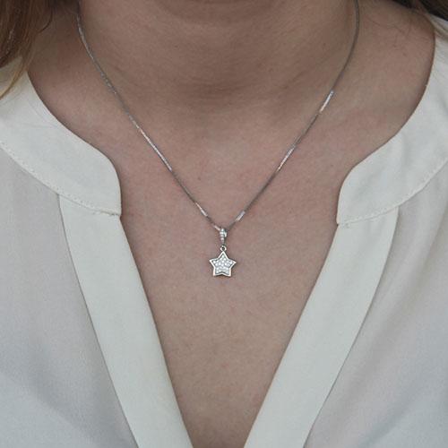 pendentif femme argent zirconium 8300123 pic4