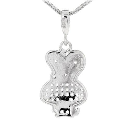 pendentif femme argent zirconium 8300124 pic3