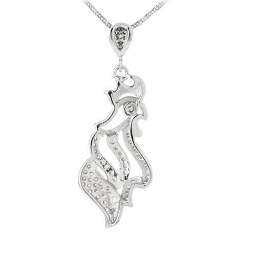 pendentif femme argent zirconium 8300127 pic3