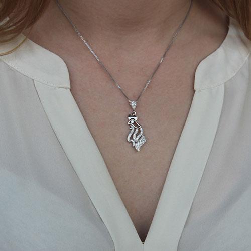pendentif femme argent zirconium 8300127 pic4