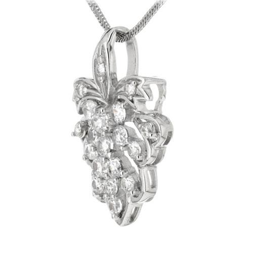 pendentif femme argent zirconium 8300128 pic2
