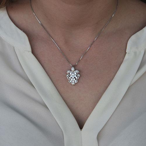 pendentif femme argent zirconium 8300128 pic4