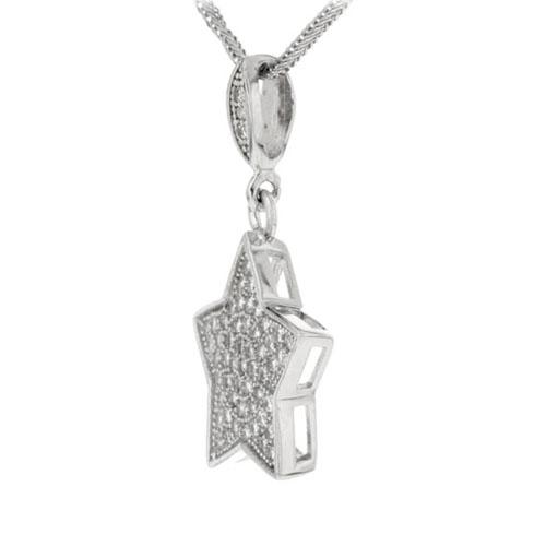 pendentif femme argent zirconium 8300130 pic2