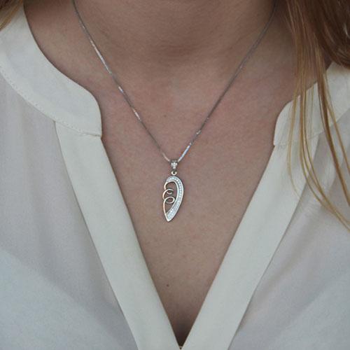 pendentif femme argent zirconium 8300131 pic4