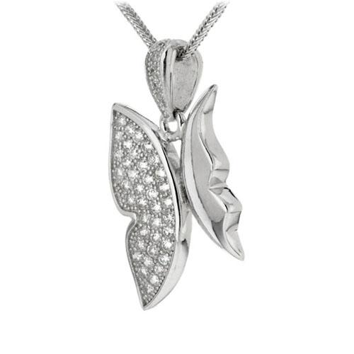 pendentif femme argent zirconium 8300133 pic2