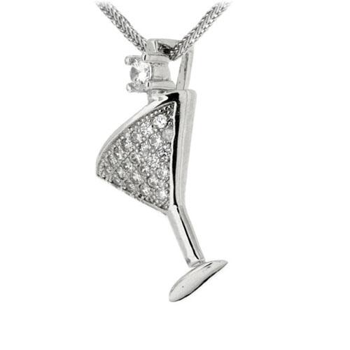 pendentif femme argent zirconium 8300140 pic2