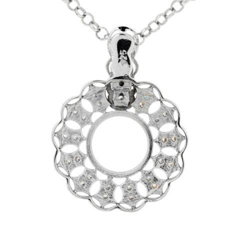 pendentif femme argent zirconium 8300141 pic3