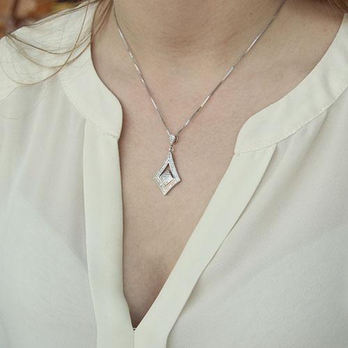 pendentif femme argent zirconium 8300142 pic4