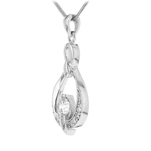 pendentif femme argent zirconium 8300143 pic2