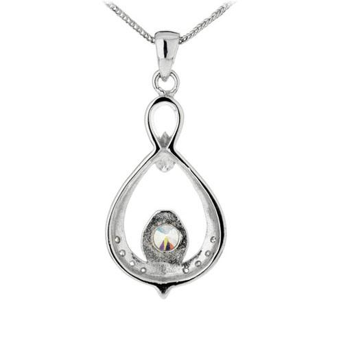 pendentif femme argent zirconium 8300143 pic3