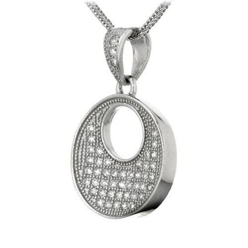 pendentif femme argent zirconium 8300146 pic2