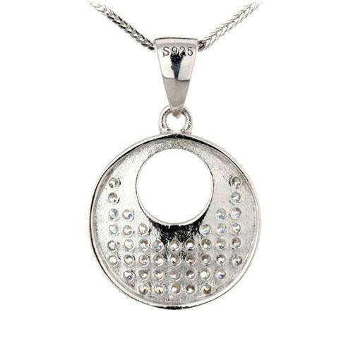 pendentif femme argent zirconium 8300146 pic3
