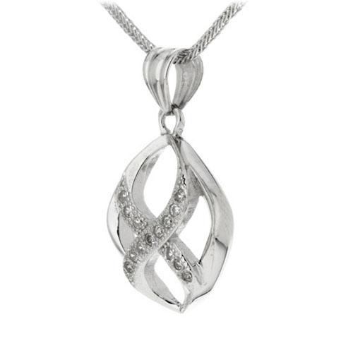 pendentif femme argent zirconium 8300147 pic2