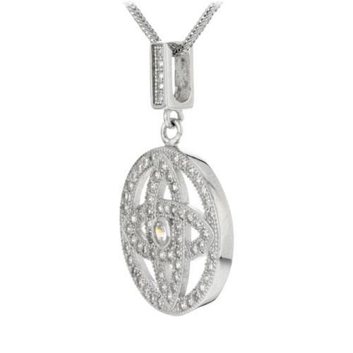 pendentif femme argent zirconium 8300153 pic2