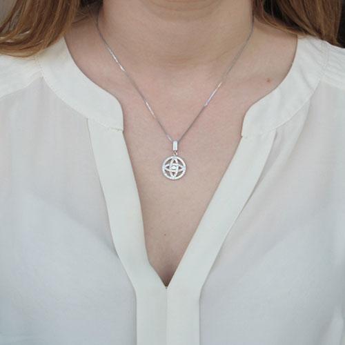 pendentif femme argent zirconium 8300153 pic4