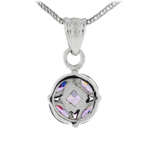 pendentif femme argent zirconium 8300154 pic3