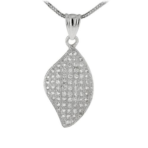 pendentif femme argent zirconium 8300155