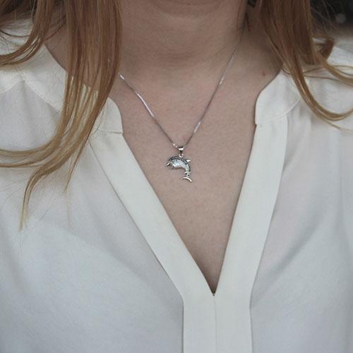 pendentif femme argent zirconium 8300156 pic4