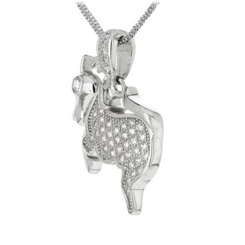 pendentif femme argent zirconium 8300165 pic2