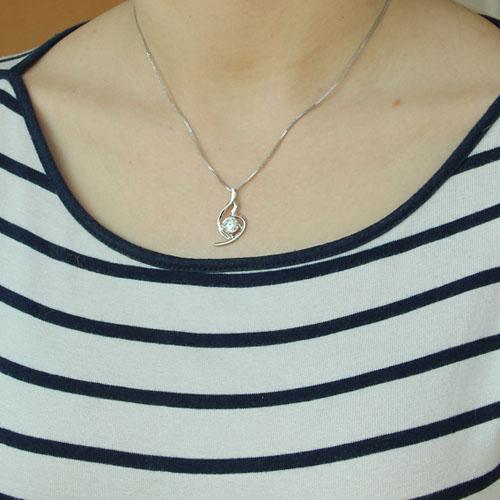 pendentif femme argent zirconium 8300184 pic4