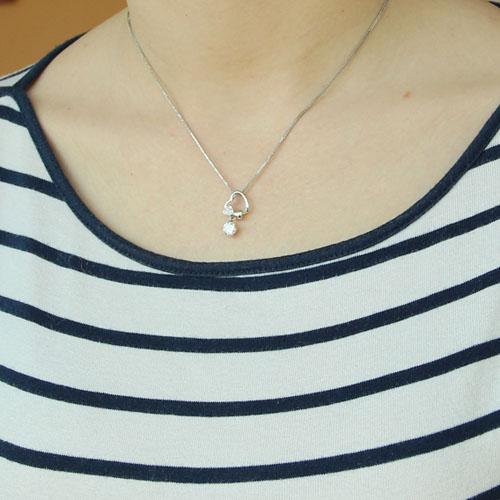 pendentif femme argent zirconium 8300187 pic4