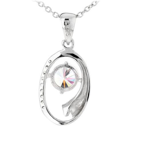 pendentif femme argent zirconium 8300191 pic3
