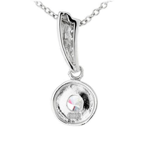 pendentif femme argent zirconium 8300194 pic3
