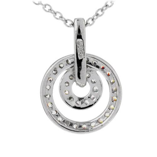 pendentif femme argent zirconium 8300200 pic3
