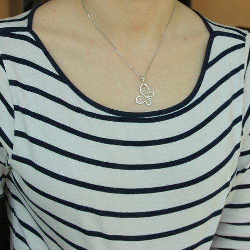 pendentif femme argent zirconium 8300204 pic4