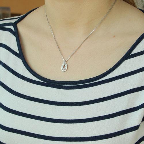 pendentif femme argent zirconium 8300205 pic4