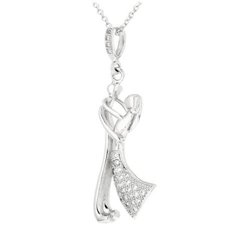pendentif femme argent zirconium 8300206 pic2