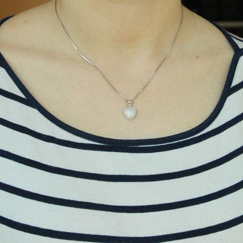 pendentif femme argent zirconium 8300207 pic4