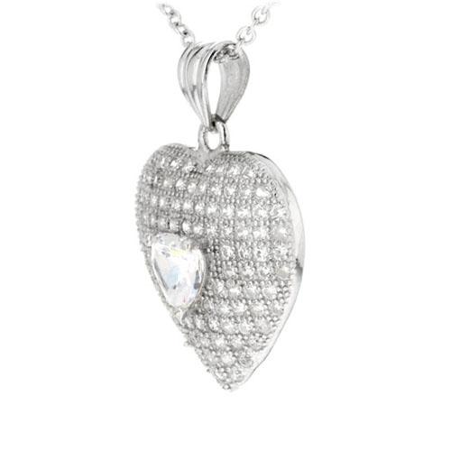 pendentif femme argent zirconium 8300208 pic2
