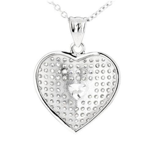 pendentif femme argent zirconium 8300208 pic3