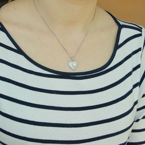 pendentif femme argent zirconium 8300208 pic4