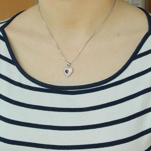 pendentif femme argent zirconium 8300210 pic4