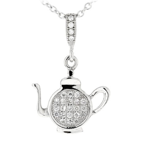pendentif femme argent zirconium 8300211