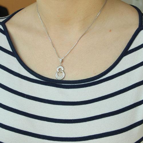 pendentif femme argent zirconium 8300212 pic4