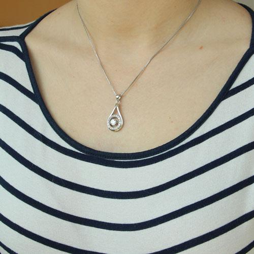 pendentif femme argent zirconium 8300213 pic4