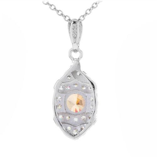 pendentif femme argent zirconium 8300375 pic3
