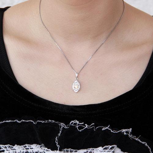 pendentif femme argent zirconium 8300375 pic4