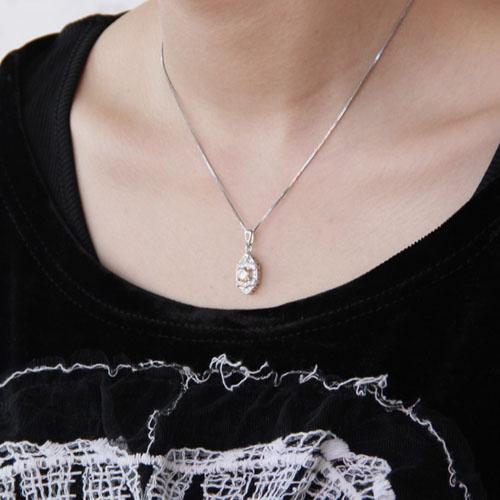 pendentif femme argent zirconium 8300375 pic5