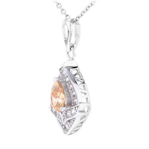pendentif femme argent zirconium 8300376 pic2