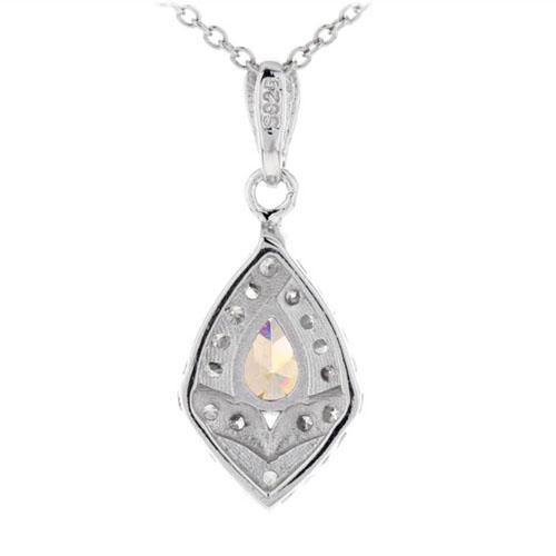 pendentif femme argent zirconium 8300376 pic3