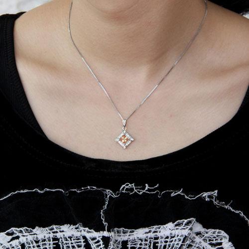 pendentif femme argent zirconium 8300377 pic4