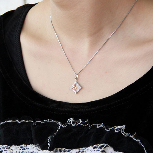 pendentif femme argent zirconium 8300377 pic5