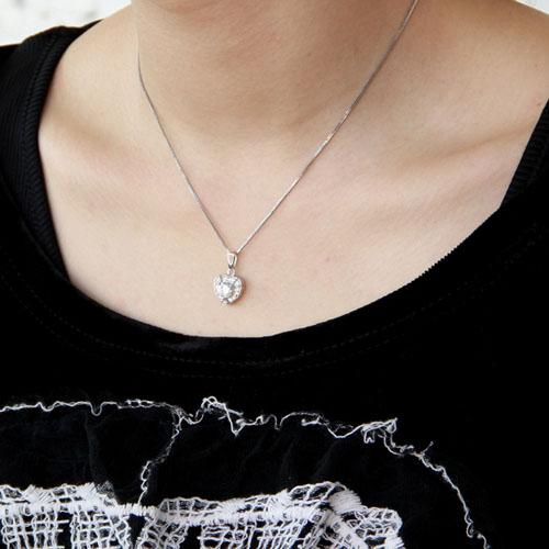 pendentif femme argent zirconium 8300380 pic5
