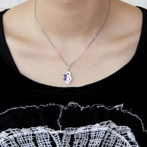 pendentif femme argent zirconium 8300381 pic4