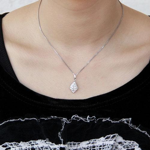 pendentif femme argent zirconium 8300384 pic4