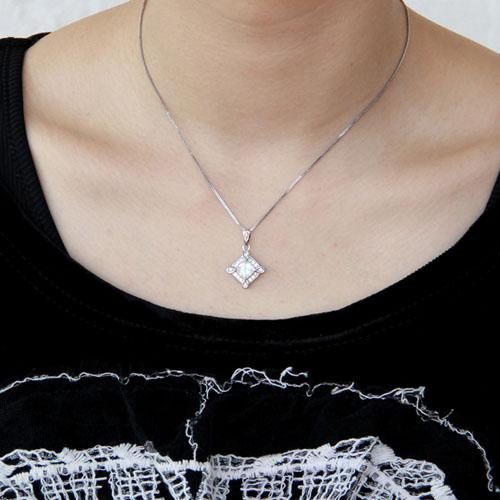 pendentif femme argent zirconium 8300385 pic4
